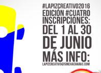 Festival El Lápiz Creativo será 28 de Julio
