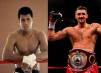 Dos leyendas del boxeo en documental