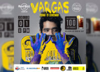 Vargas formará parte del proyecto #ArteQueDesarma