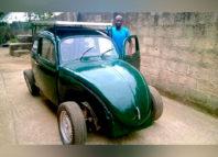 Estudiante nigeriano desarrolla Volkswagen ecológico