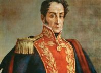 El nacimiento de Simón Bolívar