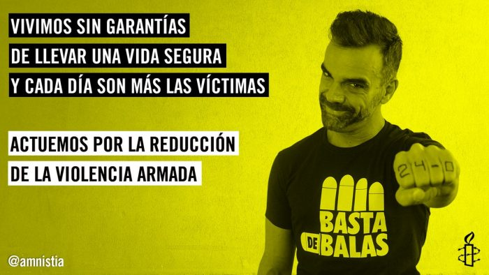 Amnistía Internacional invita a actuar contra la violencia