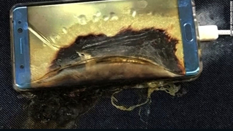 Samsung retira Galaxy Note 7 por accidentes de batería