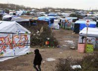 refugiados en Jungla de Calais