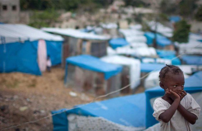 brote de Cólera en Haití