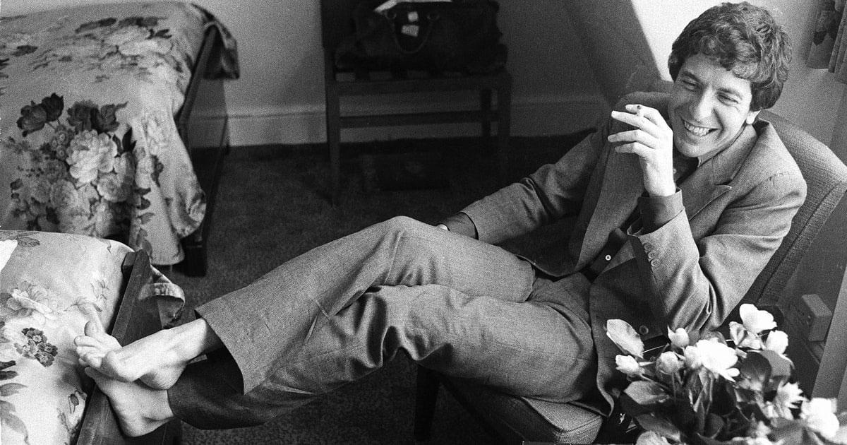 Muere el legendario Leonard Cohen a los 82 años