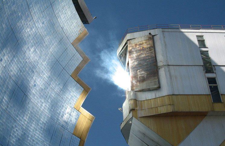 horno solar de Uzbekistán