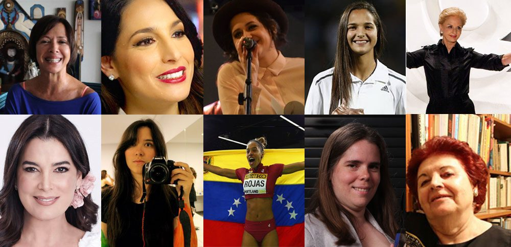 Diez mujeres venezolanas empoderadas