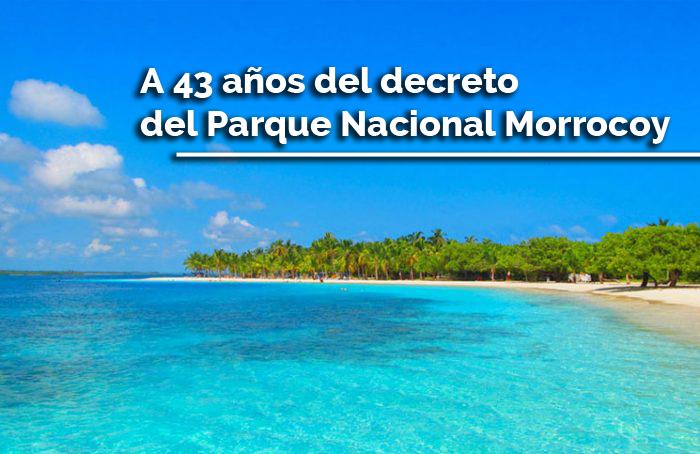 decreto del Parque Nacional Morrocoy