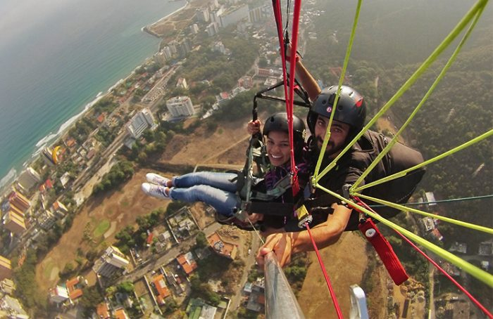 Volar en Parapente por Galipán
