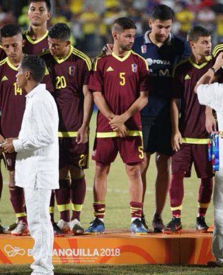 Fuerza Vinotinto se quedó con la medalla de plata en Barranquilla