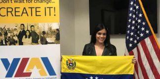 Venezolana becada por programa Jóvenes Líderes de las Américas