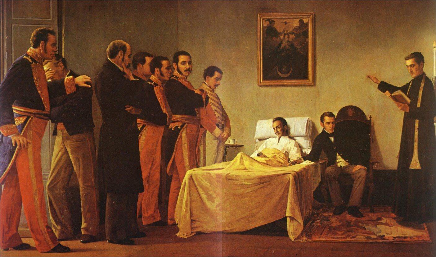 Resultado de imagen para 188 años de la muerte de simon bolivar
