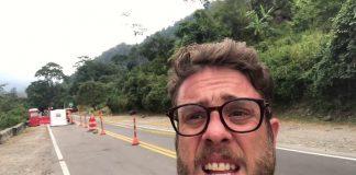 El comediante y locutor venezolano de 36 años, José Rafael Guzmán documentó su paso por la ruta de los migrantes venezolanos a través del páramo colombiano